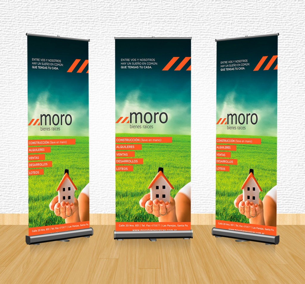 banner moro bienes y raices - f10 web media